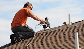 Replacing the roof